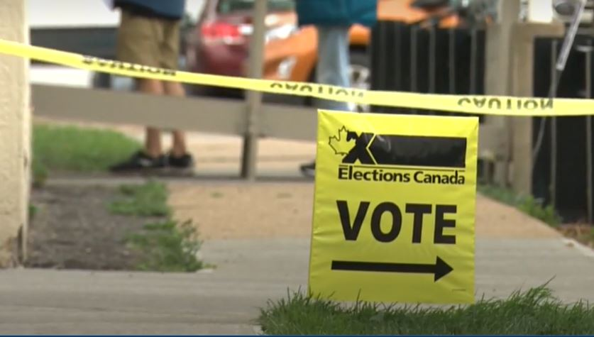 No voting options for people still isolating due to COVID-19 on Monday