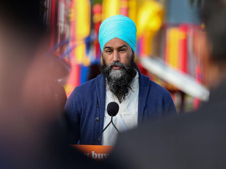 NDP Leader Jagmeet Singh promises to crack down on corporate loopholes, tax cheats
