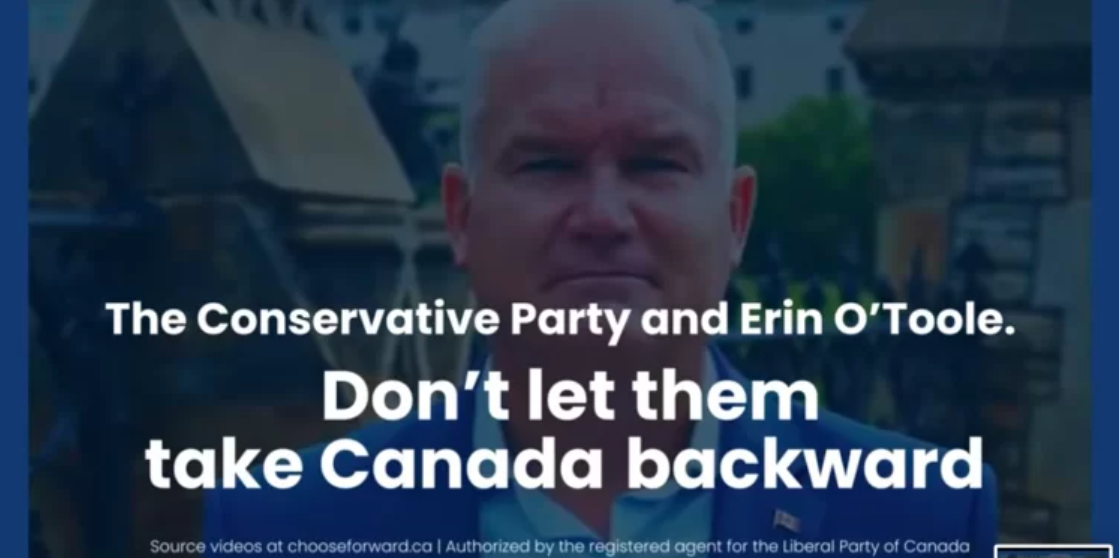 Liberals feel the heat, attack ads seek to make O'Toole look like an 'unacceptable, scary alternative,' say politicos